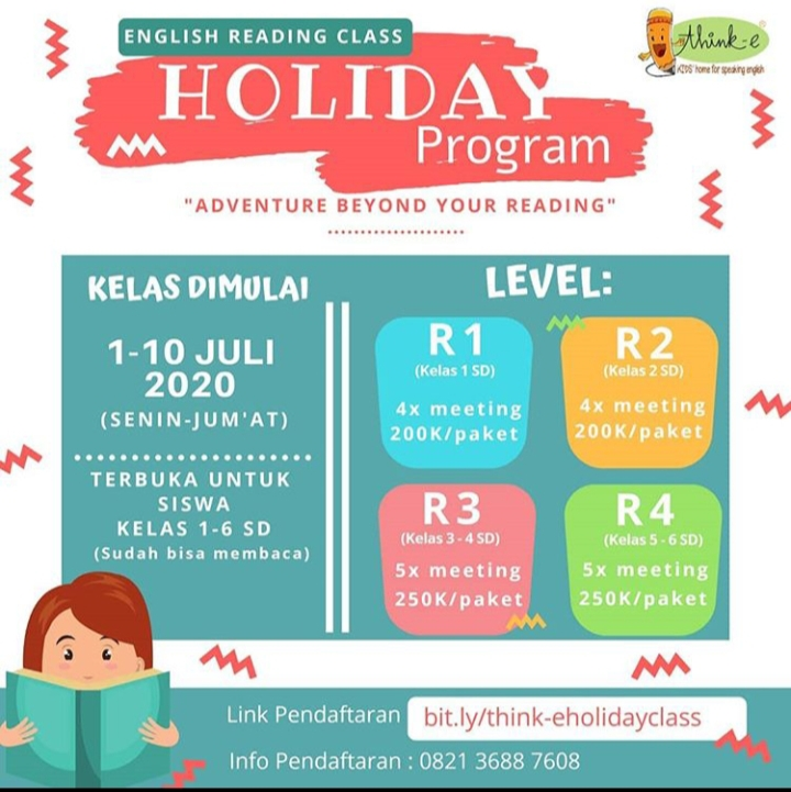Kelas Program Holiday think-e