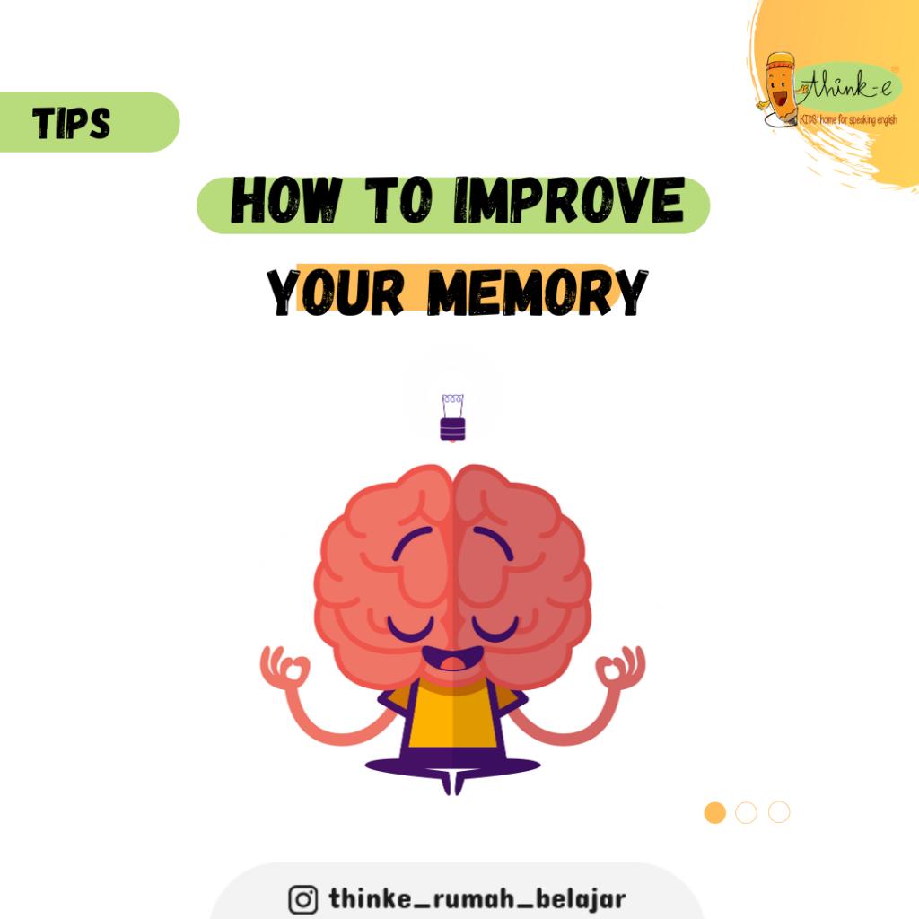 Cara melatih daya ingat