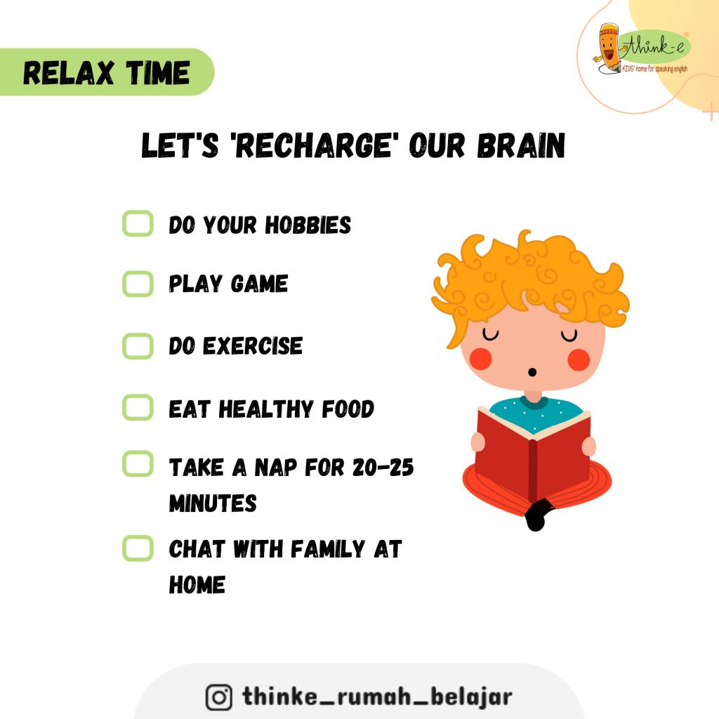 Ayo lakukan ini untuk refresh otak kita