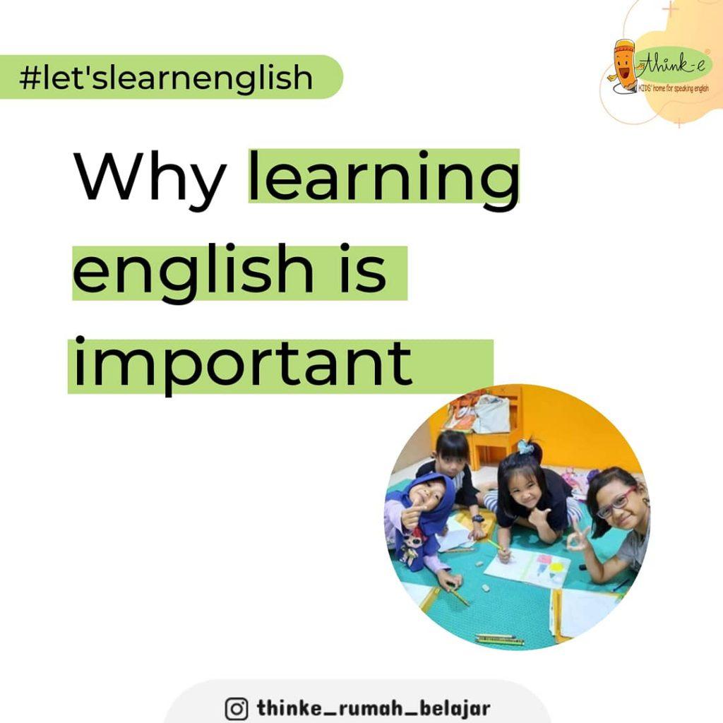 Pentingnya belajar bahasa Inggris